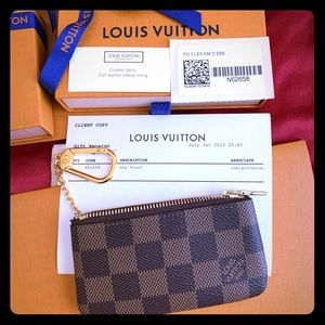 ✨Authentic Brand New Louis Vuitton Key Pouch Cles✨
